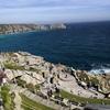 コーンウォールの断崖絶壁の手作りの石の劇場のミナックシアター【一年前のギリス旅・17】