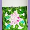紫陽花ミニタペストリー