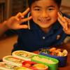 福吉小、弁当の日