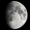 昨夜の月と2回目の木星