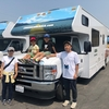 ソルトレイクシティ発着でイエローストーン、グランドティートンへのモーターホーム(キャンピングカー)の旅を楽しまれるアメリカ在住のファミリーのお客様からレンタル時のショットが届きました。