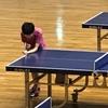 決勝戦!女子一年生の部・三重県高校学年別卓球大会