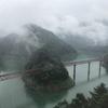 奥大井湖上駅の絶景に感動(360度全方位写真あり)
