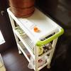 やりたかった事をやる(6)キッチンにスリムワゴン導入