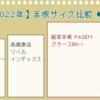 【その3】2022年の手帳をどうするか考えてみよう