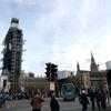 ビックベンは改修中(>_<)冬のロンドン旅行は寒いけど観光客が少ないので良い