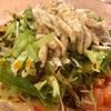 横浜中華街の鳳林で冷やし担々麺ののち、悟空茶荘でアイスジャスミンミルクティーと湯圓