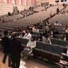 多摩大学平成30年度入学式をパルテノン多摩で開催。