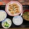 🚩外食日記(688)    宮崎ランチ   「手づくりギョーザ八味屋(はちみや)」③より、【焼きギョーザ定食(小)】‼️