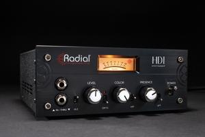 「RADIAL HDI」製品レビュー:オプトコンプやJENSENトランスを搭載したスタジオ用アクティブDI