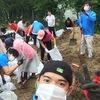 国際青少年連合 IYF 福岡から熊本へボランティア活動
