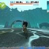 8/22(木)ローラー練(Team Dimension Data Zwift Academy Race: Circuit (B)+Free Ride)