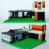 レゴ:家の作り方 LEGOクラシック10698だけで作ったよ (オリジナル説明書)デザイナーズハウス
