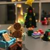 次のクリスマスに向けてレゴを作り始めた