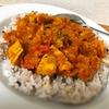 【レシピ】野菜ジュースで野菜これだけ超時短!本格こっくりインドカレー!!