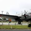 航空自衛隊 C-46の展示機