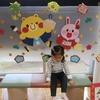 児童館に行ってきました(^^)児童館の感染症対策。