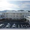 高知 いの町【仁淀病院】やまあいの静かな3階建て病院