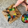 【1歳育児】幼児のための木製アルファベットパズルの遊び方いろいろ