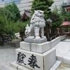 警固神社の狛犬