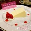 今月はクリームチーズのふわふわケーキ<札幌のカフェ情報>