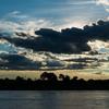 パラグアイ川の夕陽 1