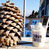 糸島ピックニックビレッジの【CROWN COFFEE】 芥屋の大門とトトロの森
