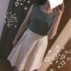 【ファッション】UNIQLOのUVカット リブノースリーブセーターを色チ買い♪(衝撃の二の腕画像あり)
