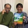 絵本作家の中川洋典先生とパシャリ。ディープなサッカーファンにも読んでほしい『ピオポのバスりょこう』