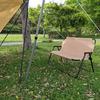 ファミリーキャンプにベンチが使えます♪我が家のベンチはニトリ!