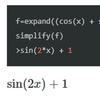 SymPyの使い方4 ~ 数式の簡素化2