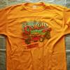私の古着から「sportswear」ボディのTシャツをご紹介。フットボールTで「フロリダ400」のバギーレースの染み込みプリントです
