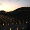 夏の古墳を彩る灯りの夕べ【市尾墓山古墳 燈火会】(高取町)