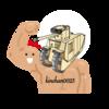 【WOT?】筋トレWOT始めました。 自走砲に撃たれるたびに28キロバーベルスクワット×10回