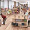 新しくOPENした、大崎市立図書館へ行ってきました。
