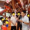 FM横浜ホズミンがログハウスに取材に来ました!!📻