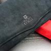 フェラーリ専用アルカンターラ同素材のティッシュボックス / ティッシュケース ウルトラスエードTORAY採用