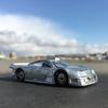 Mercedes-Benz CLK GTRに乗って、ハーバーへ。