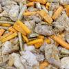 鶏肉とごぼうの甘辛炒め