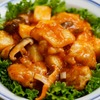 鶏と長芋と椎茸のチリソースのレシピ