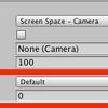 【Unity】UGUI Canvasの表示順について