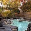 紅葉の蔵王温泉・大露天風呂で一風呂浴びて来ました!