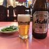 近くの町中華で軽く飲みました。 @小美玉  秀華苑