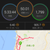 50km走