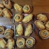 パン教室レポート 焼きカレー、クリームロール、パン・レザン、ブラウニー
