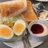 食べることには飽きない ギャランで落ち着きのある朝食を