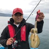 沼津湾内ボートで初挑戦ティップラン釣行!!おまけもあります笑