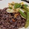 《アジアン風、長芋とスナップえんどう》体に優しい簡単レシピ