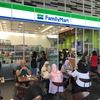 KL中央駅のファミマでソフトクリーム食べて、地元民気分
