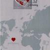 Åland Islandsのポスクロ切手来た~!